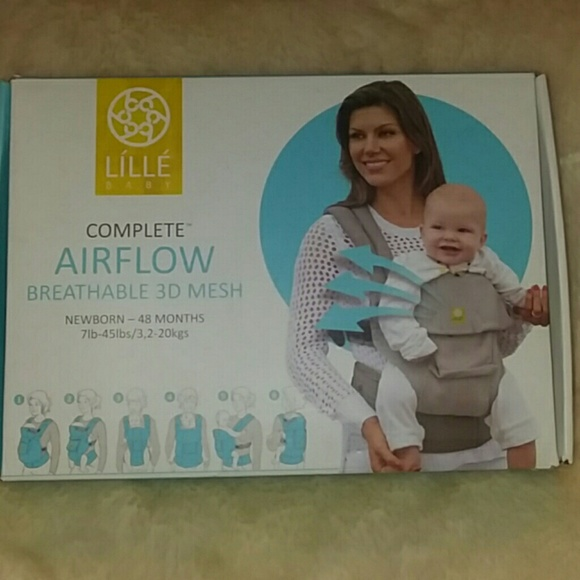 a70e3f8f240 NWB LILLE BABY Complete Airflow 6 n 1 Baby Carrier